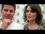 David Boreanaz and Emily Deschanel cute interview