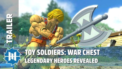 Toy Soldiers: War Chest - Legendary Heroes Revealed
