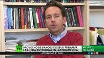 Los bancos de EE.UU. frenan la lucha contra el narcotráfico en América Latina