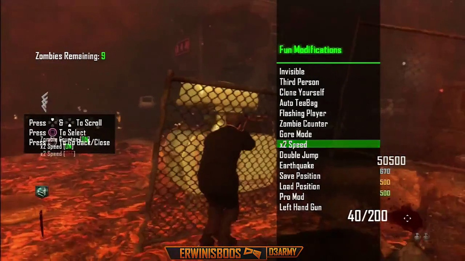 Black Ops 2 Zombie Mod Menu Conversion v1 - 1 19