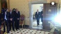 الرئيس بوتين يلتقي بالبابا فرنسيس في الفاتيكان