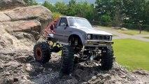 RC Rock Crawling -TAMIYA HILUX and CR-01
