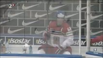 Jaromir Jagr losing his temper   Czech Finland Ice Hockey