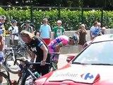Tour de France 2013.12e Etape Fougères-Tours,Chute dans le peloton à 3 km de l'arrivée.11/07/2013