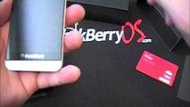 Verizon White BlackBerry Z10 Unboxing