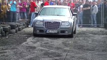 Majówka BMW Toruń 2013 Palenie Gumy Chrysler 300C