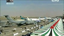 JF-17 Thunder Multi-role Fighter Aircraft at Dubai Air Show 2011 aviation aerospace industry defence