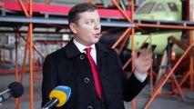 Украина. Ляшко: Украинский флаг должен летать по всему миру. Украина новости сегодня.