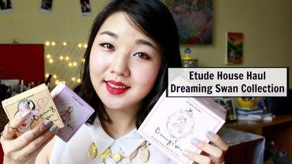 Etude House Haul: Dreaming Swan Collection | 에뛰드 하우스 하울: 드리밍 스완