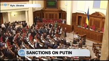 Sanctions on Putin: Russian President facing Ukrainian sanctions over imprisonment of Savchenko