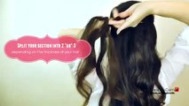 ★CUTE HAIRSTYLES HAIR TUTORIAL WITH TWIST CROSSED CURLY HALF UP UPDOS PONYTAIL FOR MEDIUM LONG HAIR