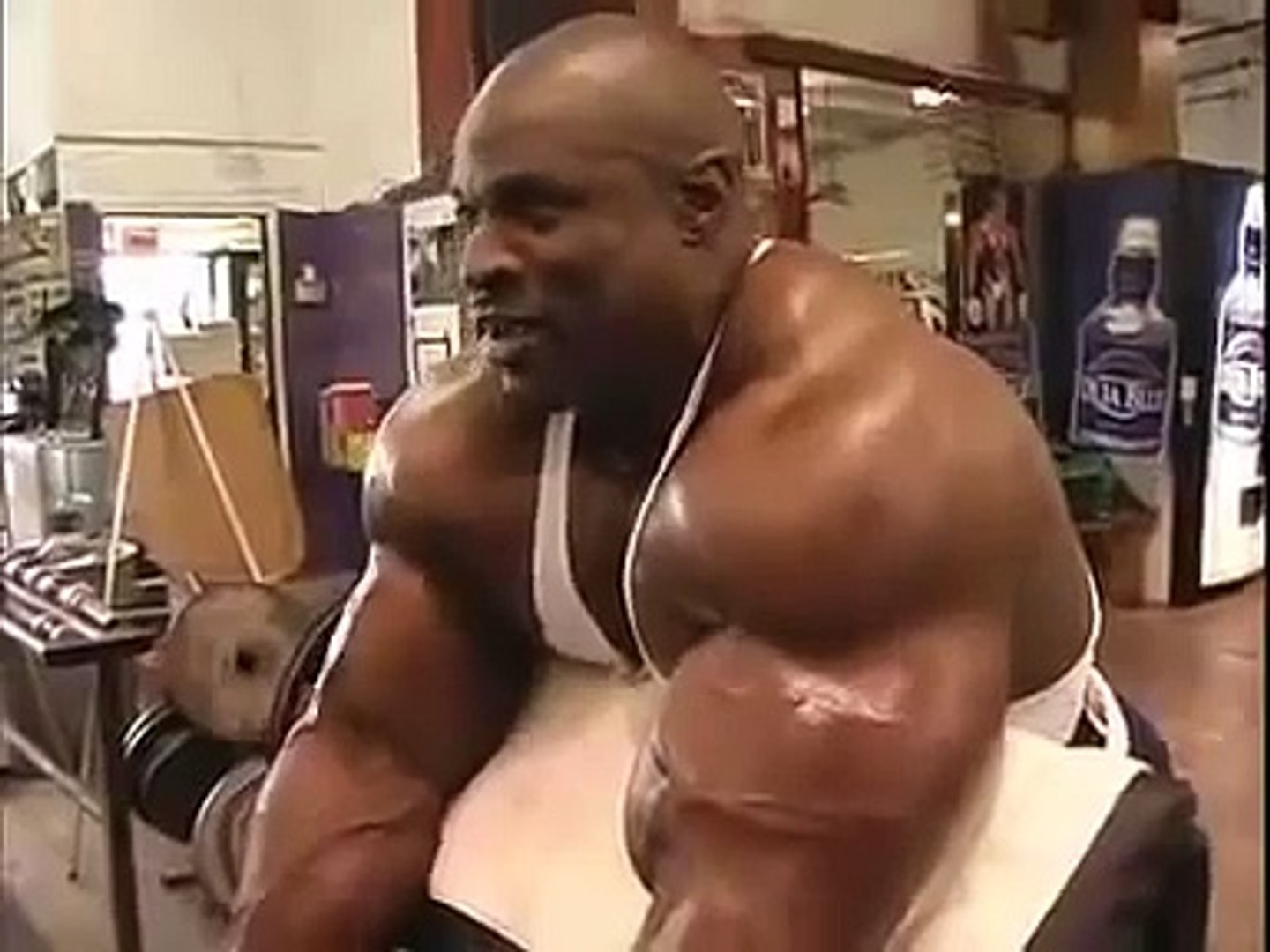 Ronnie Coleman Bodybuilding Biceps Workout Video Dailymotion