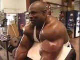 Ronnie Coleman Bodybuilding Biceps Workout