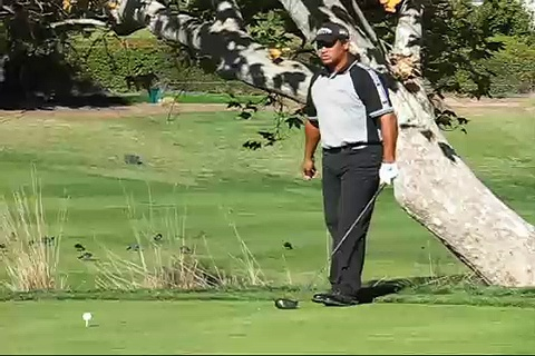 Michael Campbell's Golf Swing