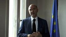 Voeux de Pierre Moscovici, Commissaire européen aux Affaires économiques et financières