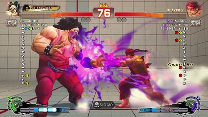 stromKUBO ( Hugo ) Vs InsetMantis7 ( Evil Ryu ) USF4 1080p -
