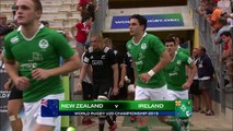 HIGHLIGHTS! New Zealand 25-3 Ireland at World Rugby U20s