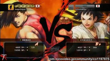 USFIV - Mago (Yang) vs. Tetsumakoto (Makoto) Jun 7, 2015