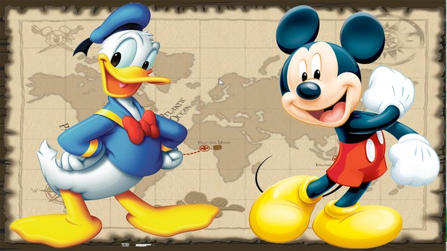 Poszukiwacze skarbów Klub Przyjaciół Myszki Miki Kaczor Donald Disney Gra dla dzieci GRAJ Z NAMI