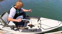 Hobie eVolve unit in the Mirage Pro Angler