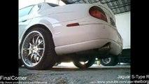 Loudest Jaguar S-Type R exhaust sound EVER!