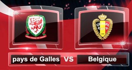 Match du jour: découvrez pays de Galles-Belgique et les autres affiches du we