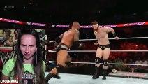 WWE Raw 6 8 15 Sheamus vs Randy Orton