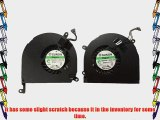 3CLeader? CPU Cooling Fan (Have SCRATCHES) For Aluminum Unibody MacBook Pro 15 A1286 Left and