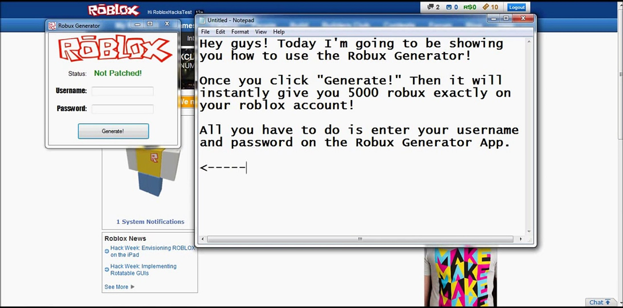 Robux Generator Working Again 32613 Video Dailymotion