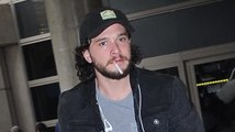 Game Of Thrones Star Kit Harrington Calms His Nerves After Flight