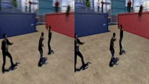 3D Fights Best Fighting Moves (3D for PC 3D phones 3D TVs Crossed Eyes)
