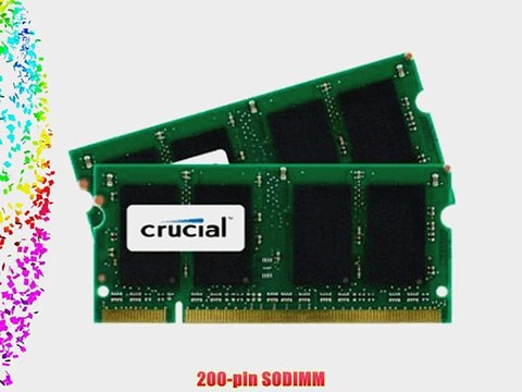 8GB Kit (4GBx2) Upgrade for a Dell Inspiron 1545 System (DDR2 PC2-6400  NON-ECC )