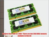 4GB DDR2 Memory RAM Kit (2 x 2GB) for Acer Aspire 3690 4520