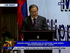Manny Pangilinan Philex Mining Problem in mining h