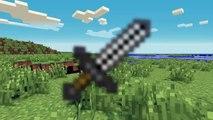 Minecraft | Como Hacer Herramientas Básicas - Espadas, cama, cofre, horno, pico, pala.