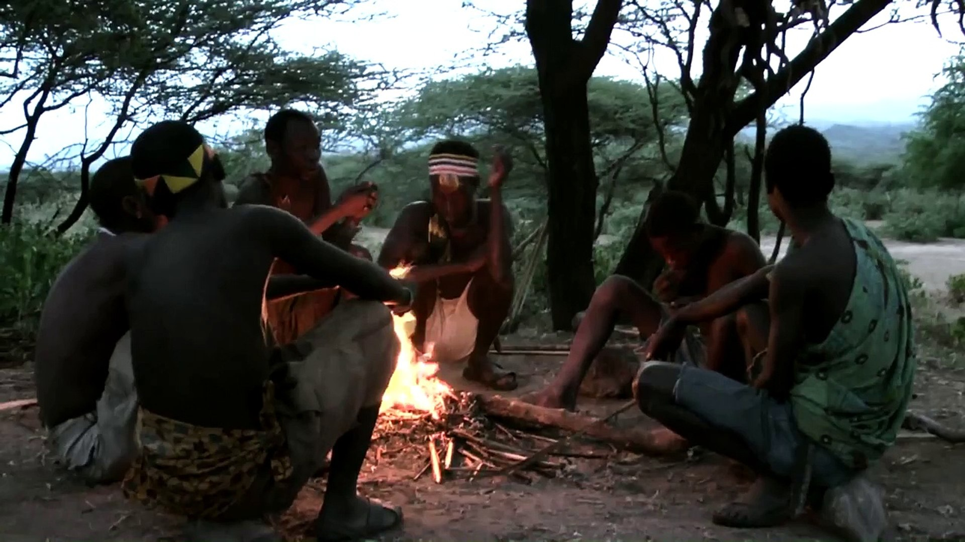 African native tribes: Hadzabe Bushmen, also called Hadza people