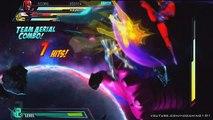 Marvel Vs Capcom 3 Final Boss Metal Doctor Doom + Metal Wesker + Galactus