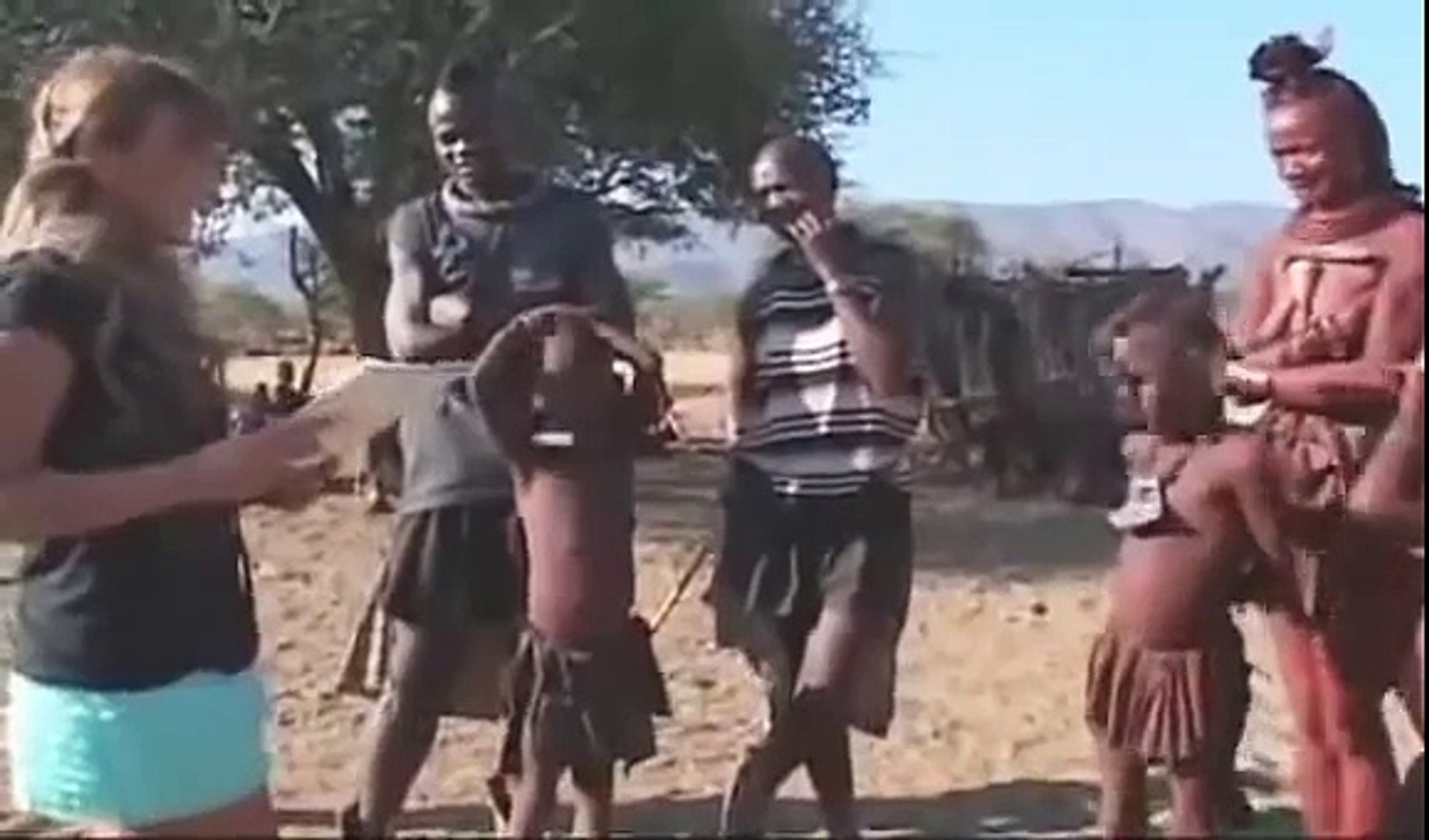 African Tribes - Hanging out with Himba Peoples (Travel Event)