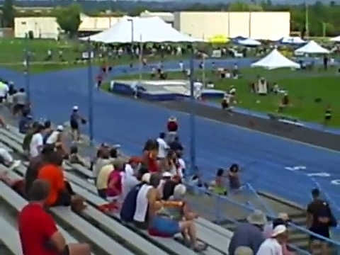 Master's Track and Field 800meter