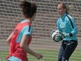 Football: Rencontrez l'Equipe de France F�minine