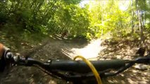 79 YZ250 Dirt Bike Trail Ride, Very Nice Bike, GoPro HD Video  NO MUSIC!
