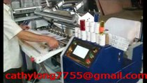 HJG-900 Automatic POS thermal paper roll slitting machine