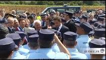 Allocution devant la nouvelle brigade de la Londe-les-Maures
