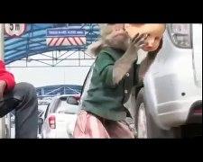 Torturing Monkeys to make money in Indonesia 3