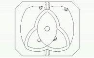 Moteur Stirling rotatif SPRATL : segments 1