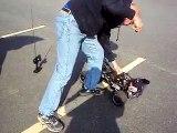 King motor Baja ,  Hpi baja 5b clone.