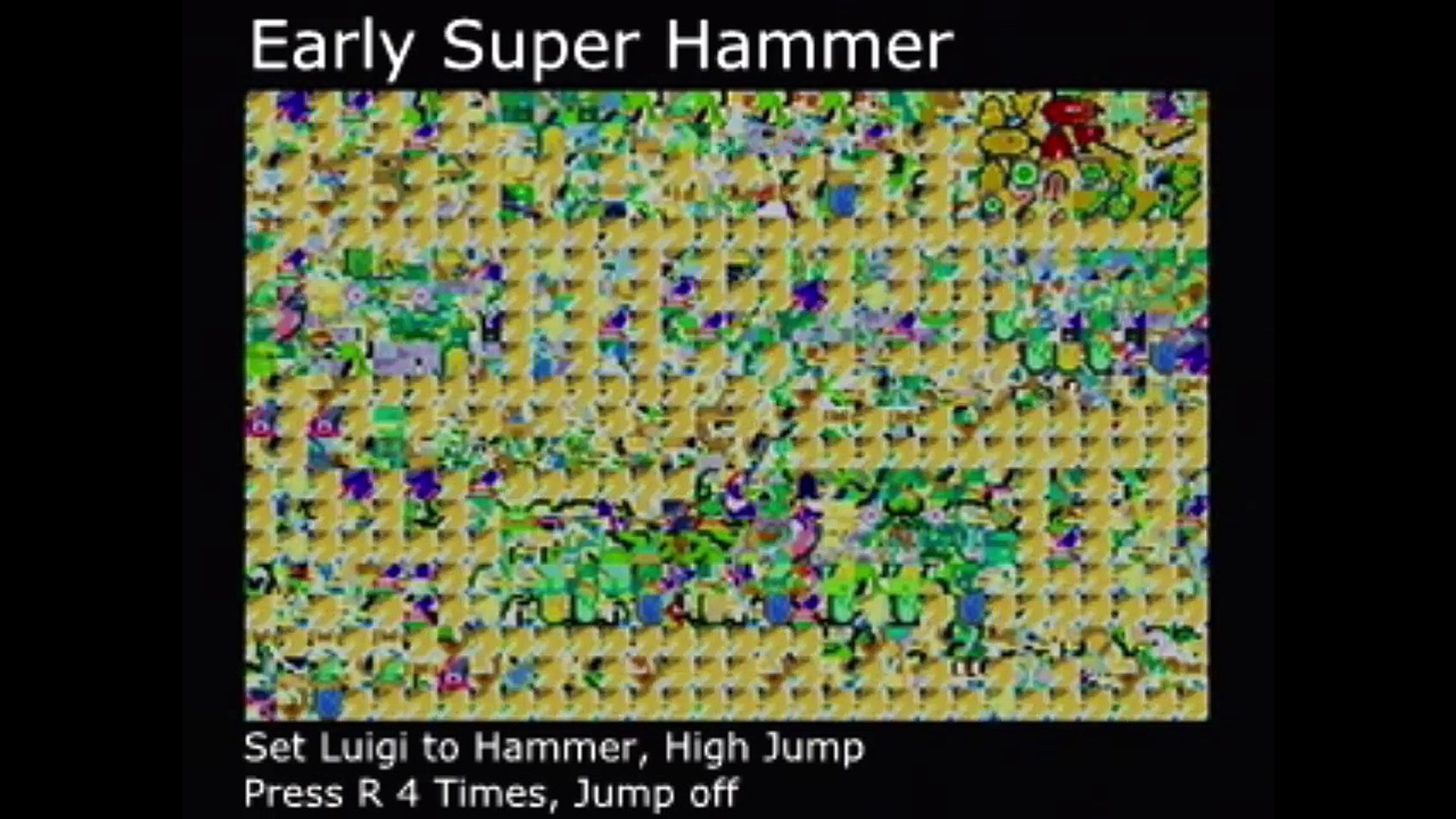Mario Luigi Superstar Saga Glitch Tutorial Compilation