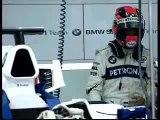 BMW SAUBER PIT STOP PRACTICE F1.08 Kubica  Heidfeld