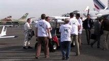 Cri-cri électrique : démonstration en vol au Bourget le 2-09-2010