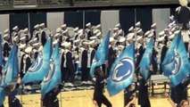 """Penn State Blue Band """"Wizard Of Oz"""" vs Temple 2012"""